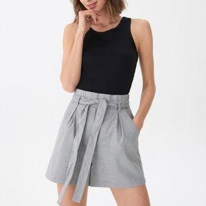 Bershka Paperbag shorts